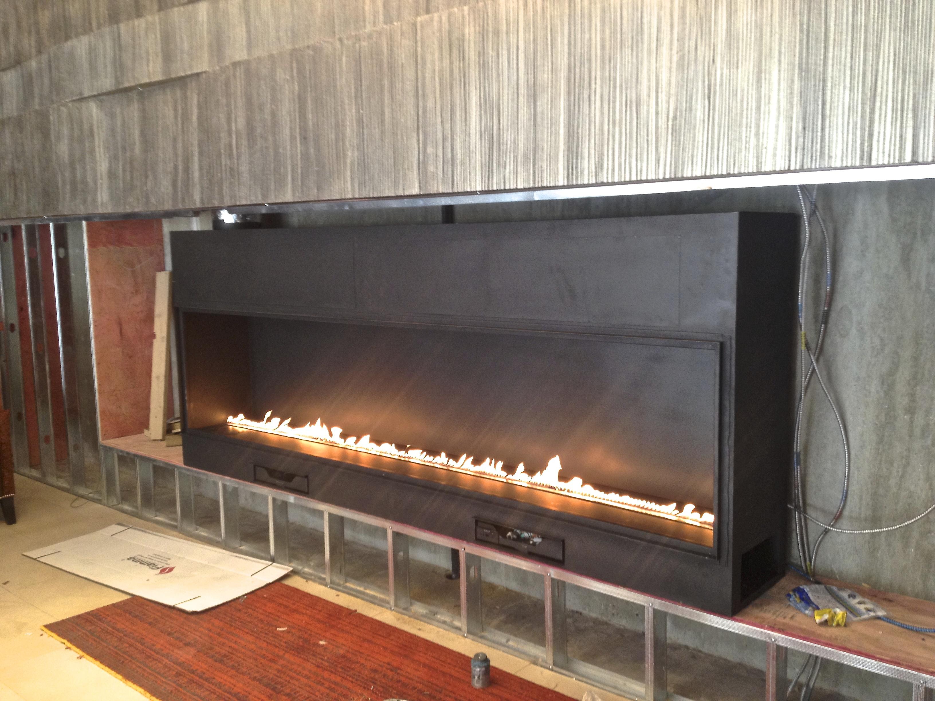 Gas Fireplace Milwaukee custom fireplace installation